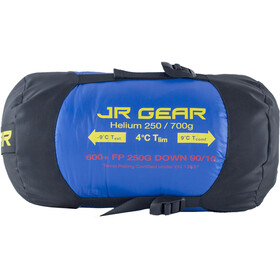 JR Gear Down 250 Sleeping Bag Royal Blue